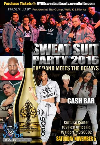 Sweat Suit Party 2016